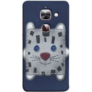 FUSON Designer Back Case Cover For LeEco Le 2s :: LeEco Le 2 Pro :: LeTV 2 Pro :: Letv 2 :: LeEco Le 2 (Cloth Embroidered Shirt Jacket Patch Mouse Iron Sew)