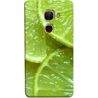 FUSON Designer Back Case Cover For LeTv Le Max :: LeEco Le Max  (Lemon Agriculture Background Bud Candy Cell)