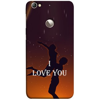 FUSON Designer Back Case Cover For LeEco Le 1s :: LeEco Le 1s Eco :: LeTV 1S (I Love You Wallpapers Flowers Lovers Boyfriends )