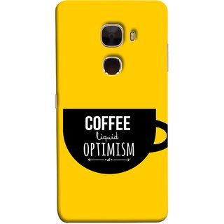 FUSON Designer Back Case Cover For LeTv Le Max :: LeEco Le Max  (Lost Bumblebee Right Coffee Fuel Buy Gourmet Coffee)