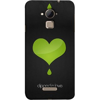 FUSON Designer Back Case Cover For Coolpad Note 3 Lite :: Coolpad Note 3 Lite Dual SIM (I Am In Love You Very Much Hearts Kiss Together )
