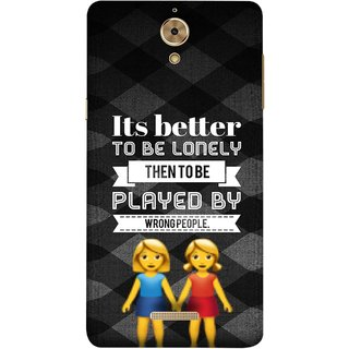 FUSON Designer Back Case Cover For Coolpad Mega 2.5D (By Wrong People Couple Friends Boy Girls Standing)