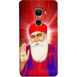 FUSON Designer Back Case Cover For LeTv Le Max :: LeEco Le Max  (Guruji Beautiful Frame God His Mission Blesses)