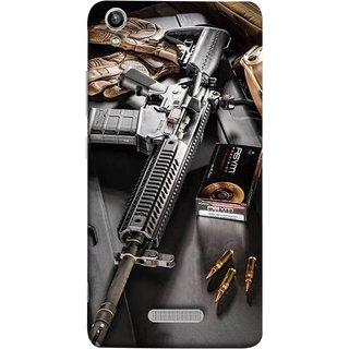 FUSON Designer Back Case Cover For Lava Pixel V1 (Rounds Ammunition Bullets Guns Aurora Murders)