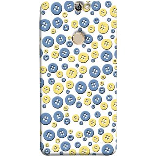 FUSON Designer Back Case Cover For Coolpad Max (Background Cloths Textile Small Medium Large Size )