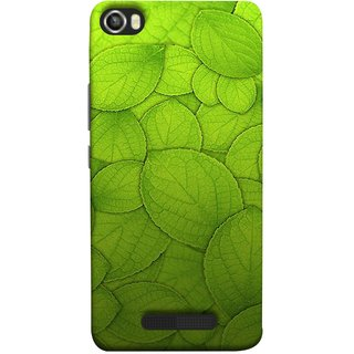 FUSON Designer Back Case Cover For Lava Iris X8 (Leaf On Water Ajwain Leaves Beautiful Nice )