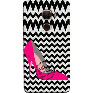 FUSON Designer Back Case Cover For LeTv Le Max :: LeEco Le Max  (High Pencil Heel For Basanti Womans Girls Dance)