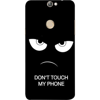 FUSON Designer Back Case Cover For Coolpad Max A8 (Nice Best Quotes Words Saying Motivational Angry Eyes)