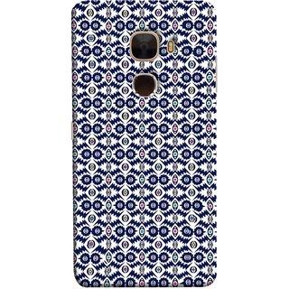 FUSON Designer Back Case Cover For LeTv Le Max :: LeEco Le Max  (Watercolor Hand Painted Blue Indigo Boho Pattern)