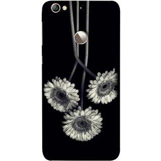 FUSON Designer Back Case Cover For LeEco Le 1s :: LeEco Le 1s Eco :: LeTV 1S (Fabric Prints Paperart Valentine Lovers Artwork Design)