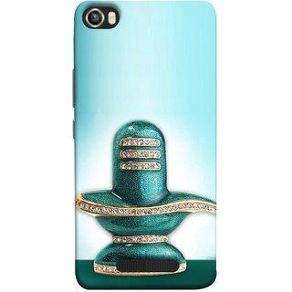 FUSON Designer Back Case Cover For Lava Iris X8 (Shiva Shambho Maha Shiv Ratri Ocean Hire Moti)