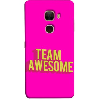 FUSON Designer Back Case Cover For LeTv Le Max :: LeEco Le Max  (Teamwork Is Best Hardwork Alltogether Result Best)
