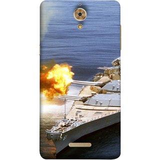 FUSON Designer Back Case Cover For Coolpad Mega 2.5D (Ocean Missile Destroyers Ins Delhi Modern Warships)