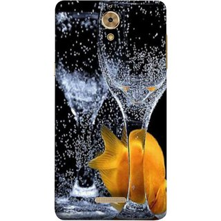 FUSON Designer Back Case Cover For Coolpad Mega 2.5D (3D Water Splash Illustration Fuzzy Bubbles Unique)
