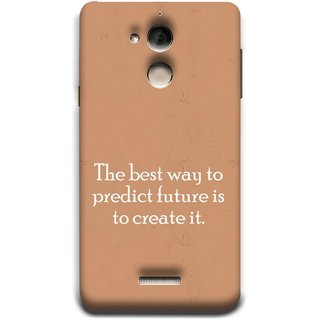 FUSON Designer Back Case Cover For Coolpad Note 5 (Yourself Motivational Inspirational Saying Quotes)