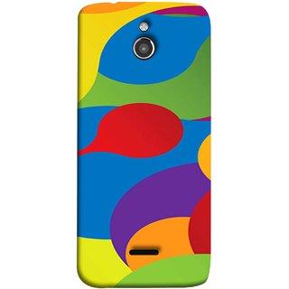 FUSON Designer Back Case Cover For InFocus M2 (Gliding Mobile Wallpaper Floral Patterns Shining Dark Patterns)