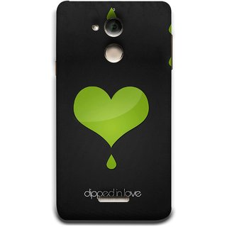 FUSON Designer Back Case Cover For Coolpad Note 5 (I Am In Love You Very Much Hearts Kiss Together )