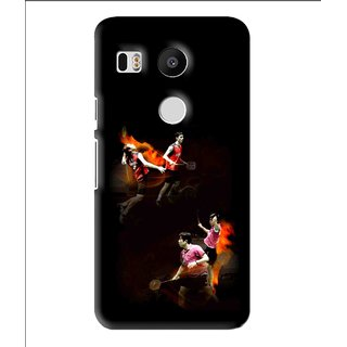 Snooky Printed Sports Player Mobile Back Cover For Lg Google Nexus 5X - Multi