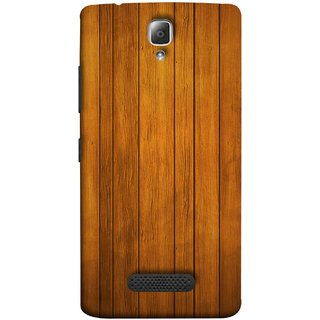 FUSON Designer Back Case Cover For Lenovo A2010 (Unique Wooden Pine Background Vintage Table Tiles)