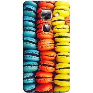 FUSON Designer Back Case Cover For LeEco Le 2s :: LeEco Le 2 Pro :: LeTV 2 Pro :: Letv 2 :: LeEco Le 2 (Homemade Veggie Burgers With Sweet Potato )