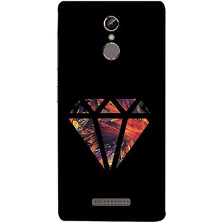 FUSON Designer Back Case Cover For Gionee S6 (Bright Beautiful Colour Strips And Band Wave Triangle)