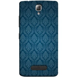 FUSON Designer Back Case Cover For Lenovo A2010 (Blue Artwork Student Spots Amazing Plywood Table Cloth)