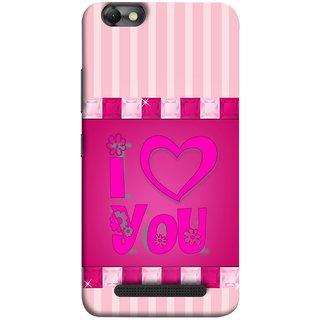FUSON Designer Back Case Cover For Lenovo Vibe C :: Lenovo A2020 (Pink Red Wallpapers Flowers Lovers Boyfriends )