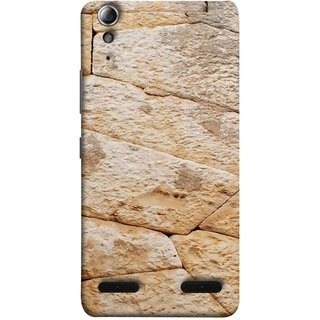 FUSON Designer Back Case Cover For Lenovo A6000 Plus :: Lenovo A6000+ :: Lenovo A6000 (Irregular Shapes Ancient Different Sizes Wallpaper)