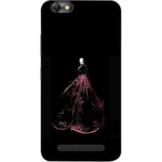 FUSON Designer Back Case Cover For Lenovo Vibe C :: Lenovo A2020 (Cloth Design Dark Pink Baby Maroon Paper Sheet )