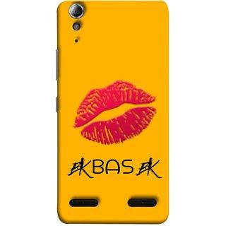 FUSON Designer Back Case Cover For Lenovo A6000 Plus :: Lenovo A6000+ :: Lenovo A6000 (Red Pink Juicy Lips Woman Female Girls Girlfriend)