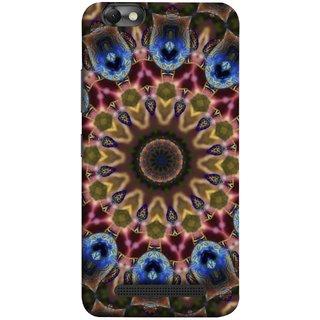 FUSON Designer Back Case Cover For Lenovo Vibe C :: Lenovo A2020 (Cotton Quilt Artwork Freestyle Design Floral Best Design )