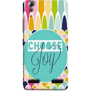 FUSON Designer Back Case Cover For Lenovo A6000 Plus :: Lenovo A6000+ :: Lenovo A6000 (Teacup Alley Wallpaper By Anthro Dots Inspring )