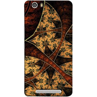 FUSON Designer Back Case Cover For Gionee Marathon M5 Lite (Colour Canvas For Hall Bedroom Painting Intresting)