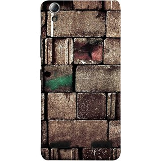 FUSON Designer Back Case Cover For Lenovo A6000 :: Lenovo A6000 Plus :: Lenovo A6000+ (Irregular Shapes Ancient Different Sizes Wallpaper)
