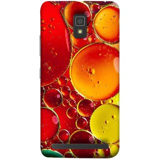 FUSON Designer Back Case Cover For Lenovo A6600 (Watercolor Colorful Holiday Sketch Oil Painting )