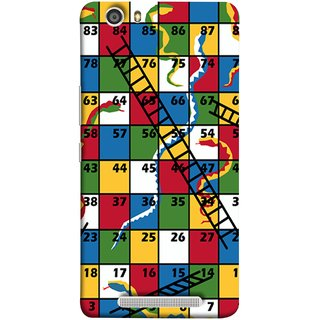 FUSON Designer Back Case Cover For Gionee Marathon M5 Lite (Sap Sidi Game India Fevorite Children Boys Girls )