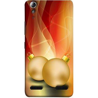 FUSON Designer Back Case Cover For Lenovo A6000 Plus :: Lenovo A6000+ :: Lenovo A6000 (Holidays Party Arrange Yellow Red Pink Back Smokes)