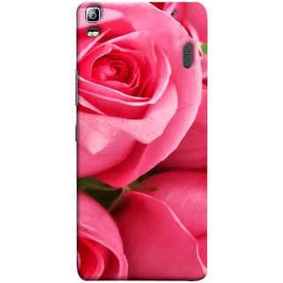 FUSON Designer Back Case Cover For Lenovo K3 Note :: Lenovo A7000 Turbo (Close Up Red Roses Chocolate Hearts For Valentines Day)