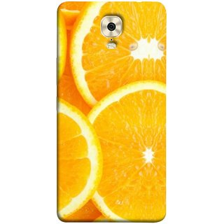 FUSON Designer Back Case Cover For Gionee M6 (Lemon Agriculture Background Bud Candy Cell)