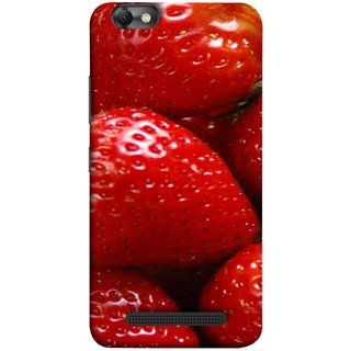 FUSON Designer Back Case Cover For Lenovo Vibe C :: Lenovo A2020 (Best Fresh Strawberry Ice Cream Homemade Recipes)