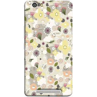 FUSON Designer Back Case Cover For Gionee Marathon M5 Lite (Elegant Gentle Trendy Pattern In Small Scale Flower)