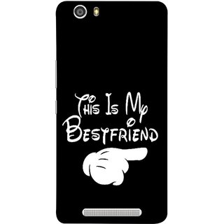 FUSON Designer Back Case Cover For Gionee Marathon M5 Lite (Friends Always Together Dosti Yaari Masti Maja Fun)