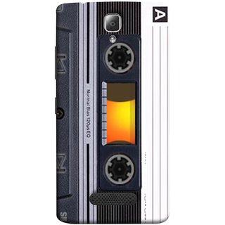 FUSON Designer Back Case Cover For Lenovo A2010 (Menu Playlist Pause Fast Forward Backwards Black )