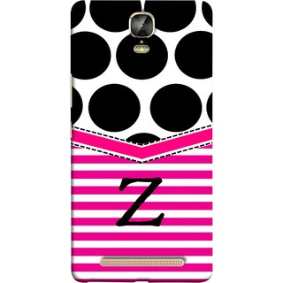 FUSON Designer Back Case Cover For Gionee Marathon M5 Plus (Beautiful Cute Nice Couples Pink Design Paper Girly)