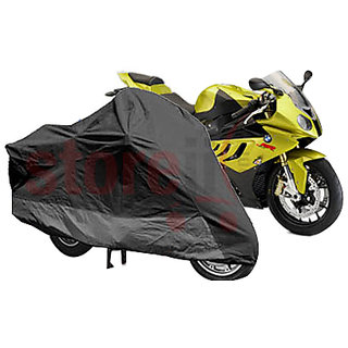 Universal Size Bike Motorcyle Body Cover With Mirror Pockets