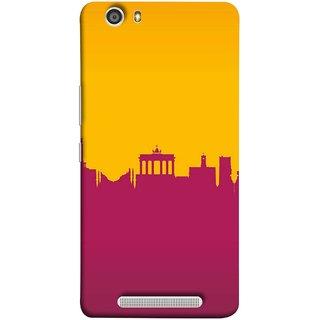 FUSON Designer Back Case Cover For Gionee Marathon M5 Lite (Astounding Skyscrapers Of Remarkable Architectural)