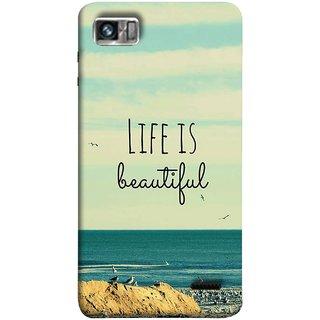 FUSON Designer Back Case Cover For Lenovo K860 :: Lenovo IdeaPhone K860 (Adorable Wallpapers Best Quotes Enjoy Together Happy)