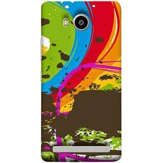FUSON Designer Back Case Cover For Lenovo A7700 (Forest Nature Whimsical Fantasy Fine Art Spots)