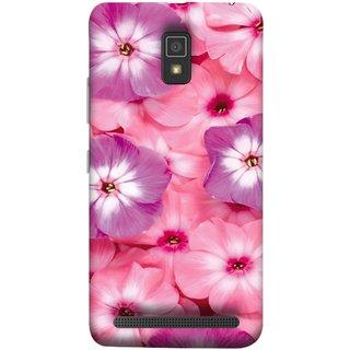 FUSON Designer Back Case Cover For Lenovo A6600 (Floral Patterns Digital Textiles Florals Design Patterns)