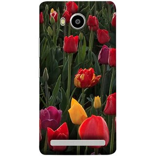 FUSON Designer Back Case Cover For Lenovo A7700 (Dark Bold Red Roses Chocolate Hearts For Valentines Day)